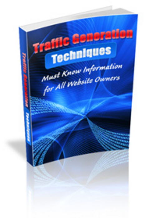 Product picture Traffic Generation Techniques MRR.zip