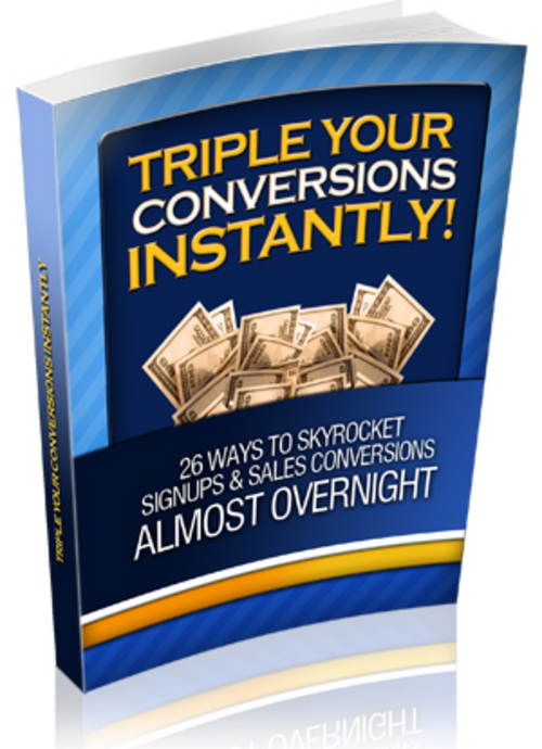Product picture Triple Your Conversions PLR.zip