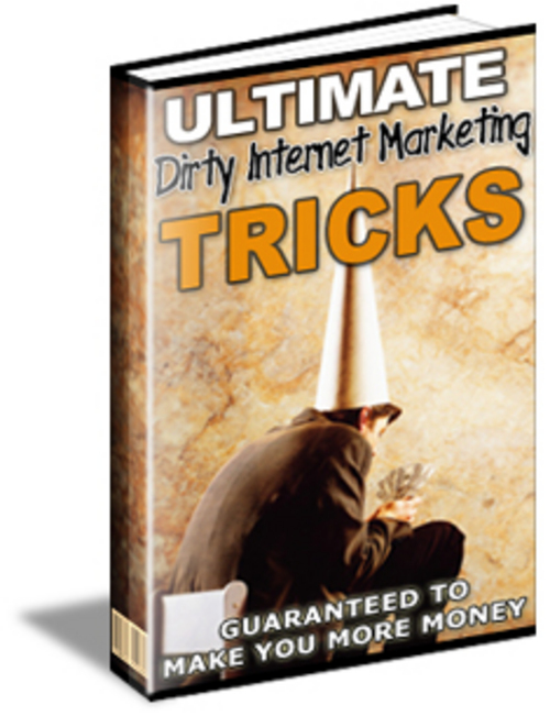 Product picture Ultimate Dirty Tricks.zip
