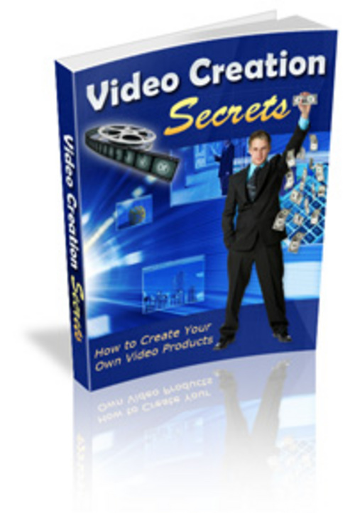 Product picture Video Creation Secrets PLR.zip